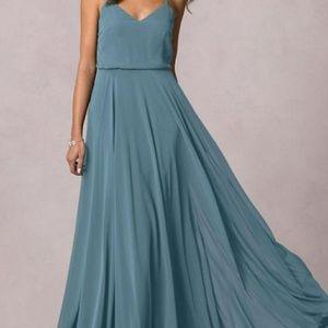 Jenny Yoo Dresses - Teal bridesmaid or prom dress
